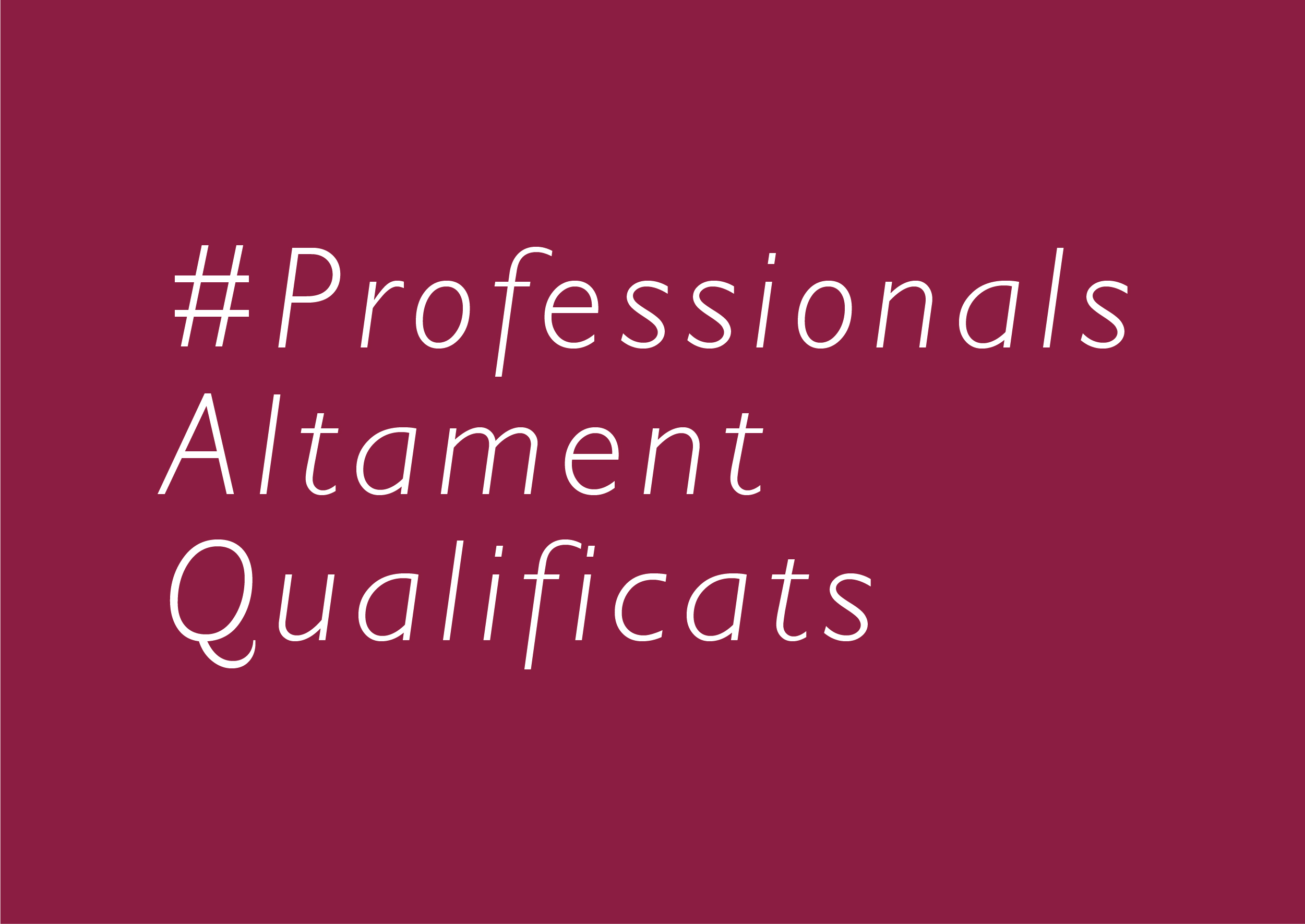 ProfessionalsQualificats
