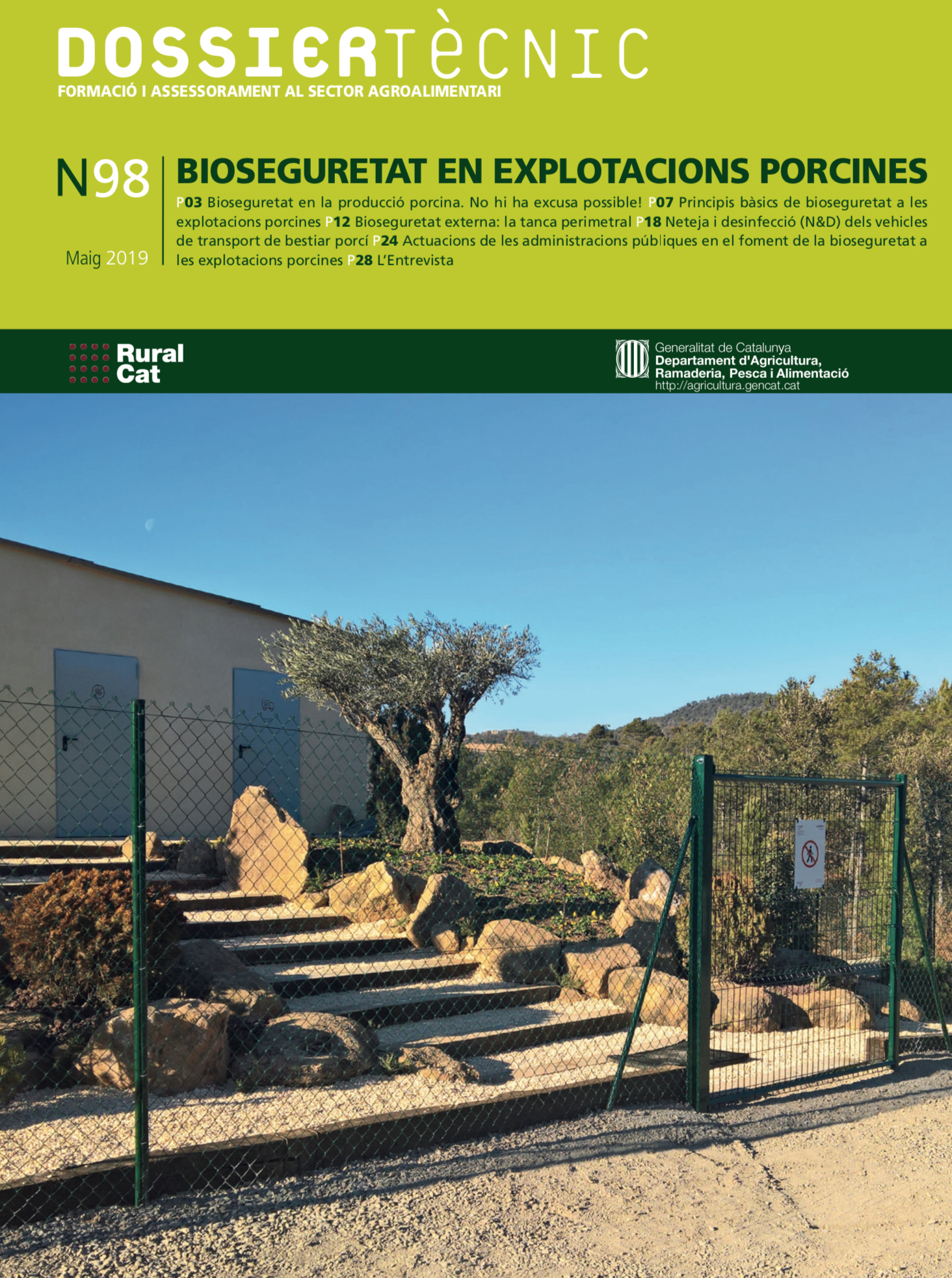 Sergal - Bioseguretat - Ruralcat